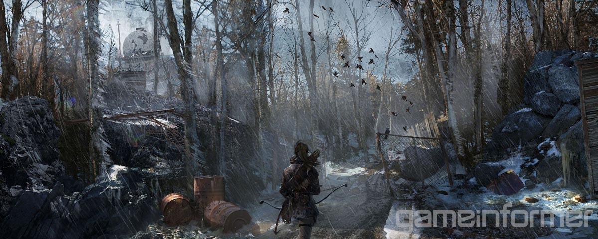 Nuevas ilustraciones de Rise of Tomb Raider