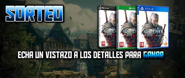 Sorteo: Una copia digital de The Witcher 3: Wild Hunt (PS4, XOne o PC)