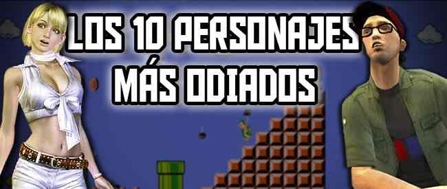 Los 10 personajes más odiados de los videojuegos