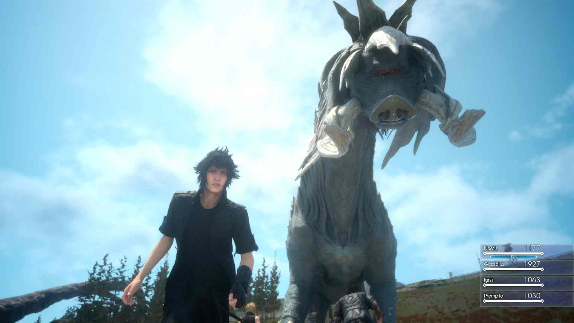 La actualización de Final Fantasy XV: Episode Duscae ya está disponible