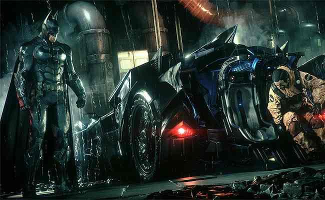 El Batmóvil enseña los efectos de NVIDIA GameWorks en un nuevo vídeo