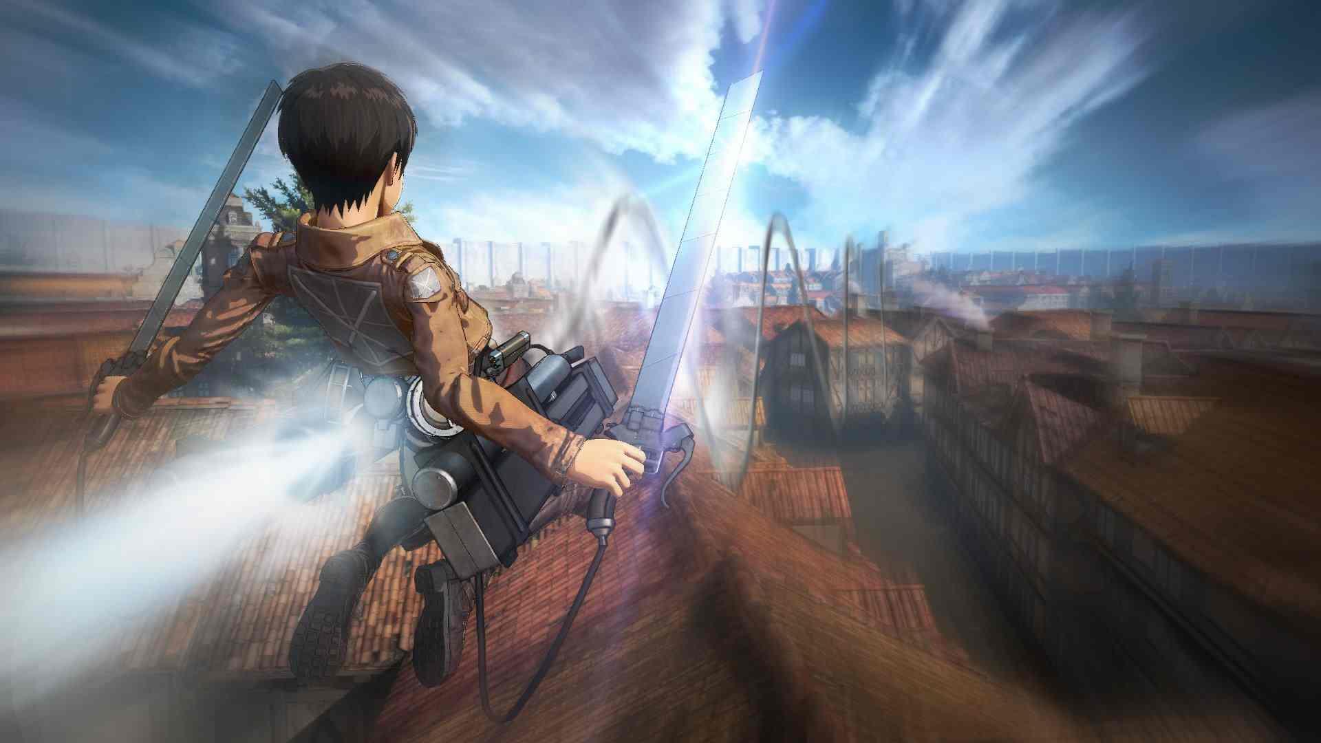 Attack on Titan – Tráiler atmósfera de juego