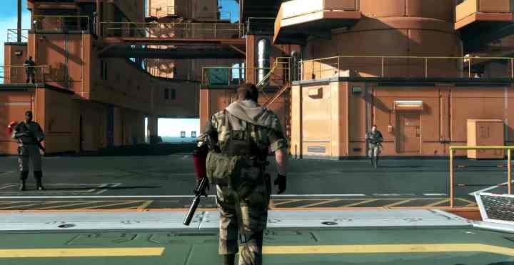 La Mother Base es la protagonista del nuevo gameplay de Metal Gear Solid V