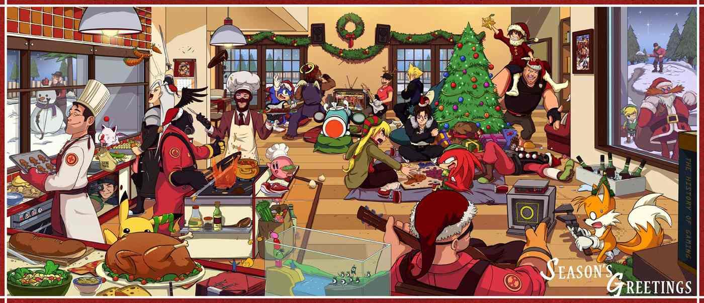 Navidad y videojuegos