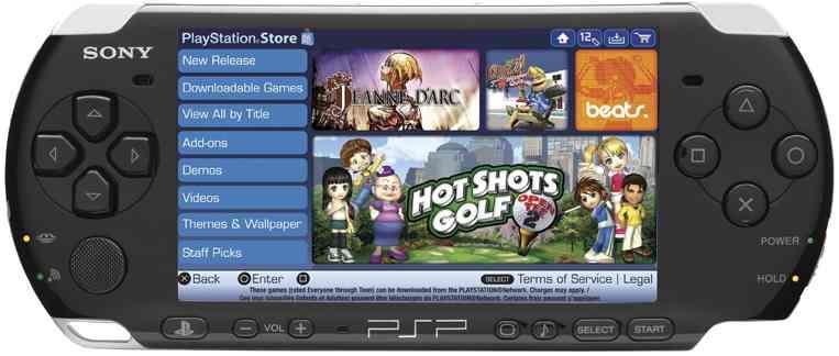 Sony anuncia el cierre de la PlayStation Store de PSP en Japón