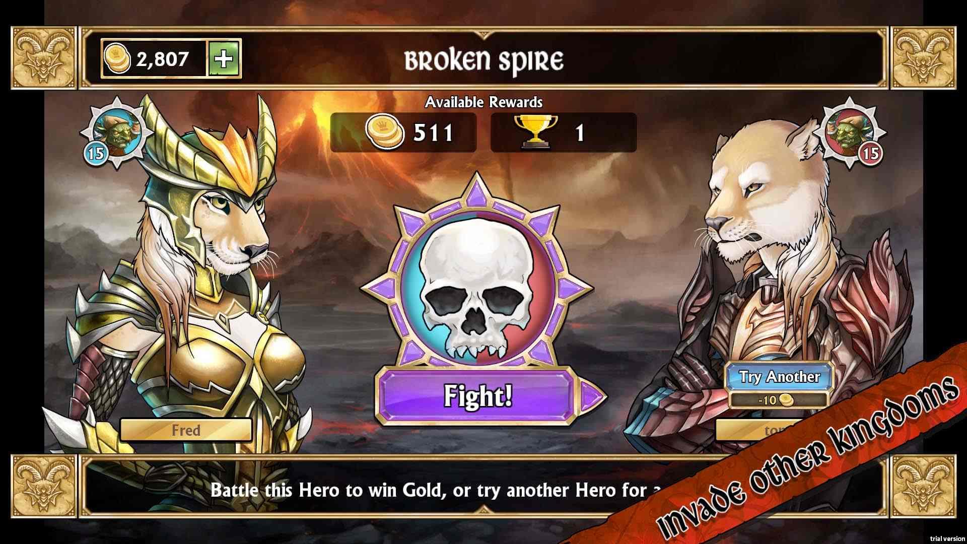 Gems of War – Tráiler de lanzamiento