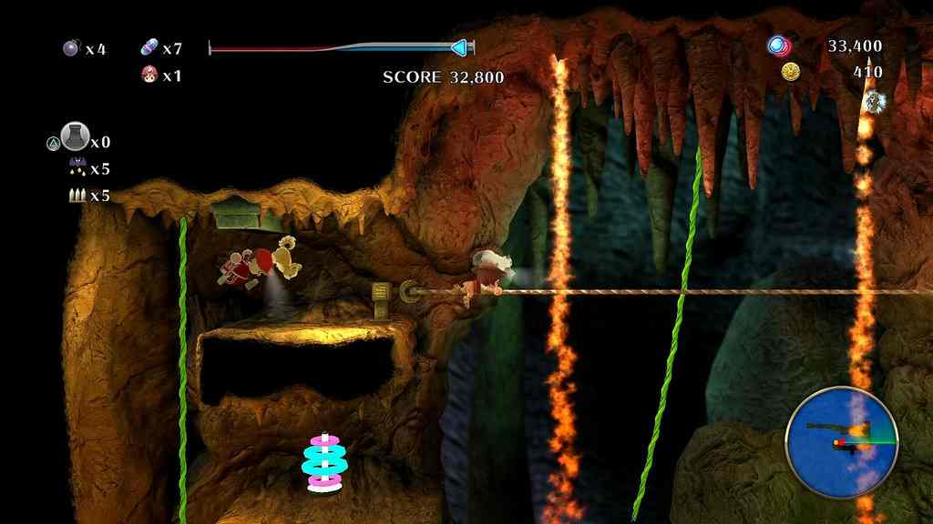 Spelunker World – Gameplay PS Vita