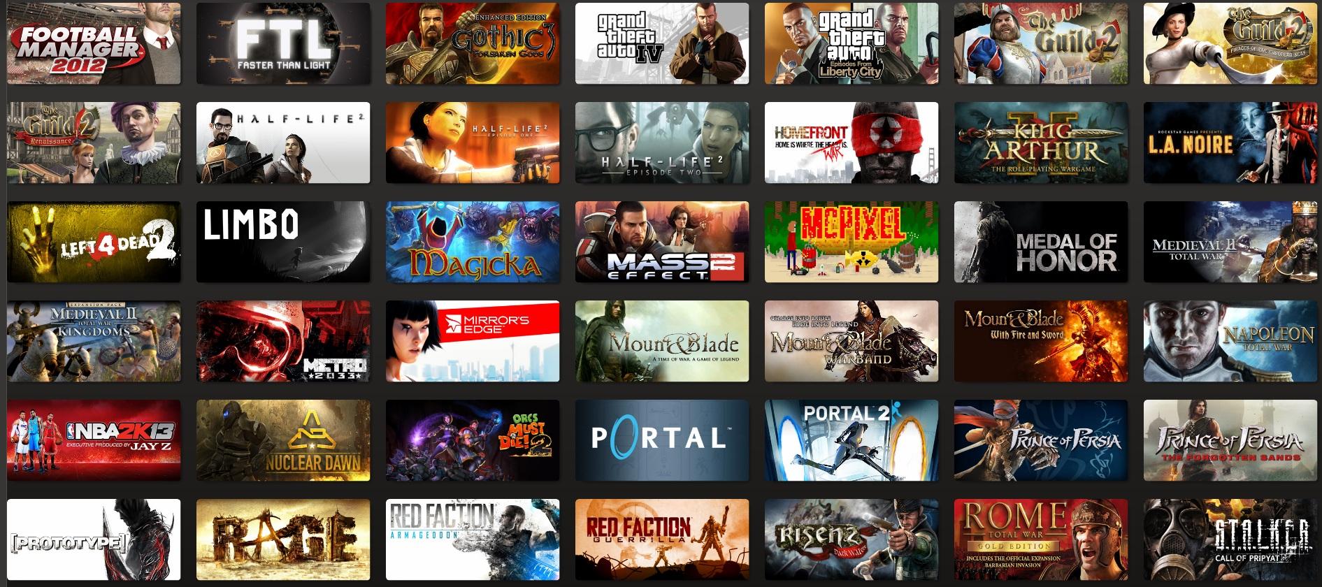 Sorteo: 10 códigos de juegos para Steam #3