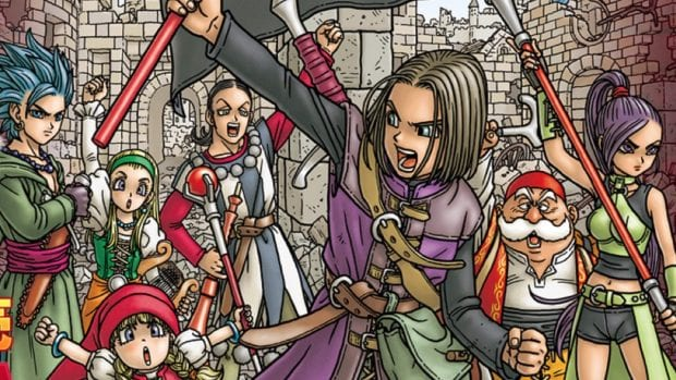 Dragon Quest XI vende 2 millones de copias en Japón