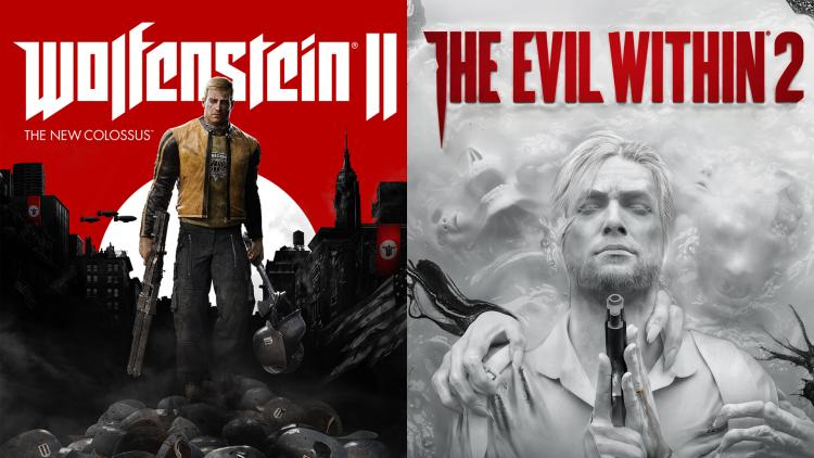 The Evil Within 2 y Wolfenstein 2 New Colossus