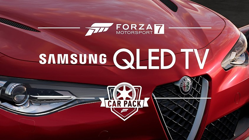 Paquete de coches Samsung QLED TV para Forza 7 ya disponible