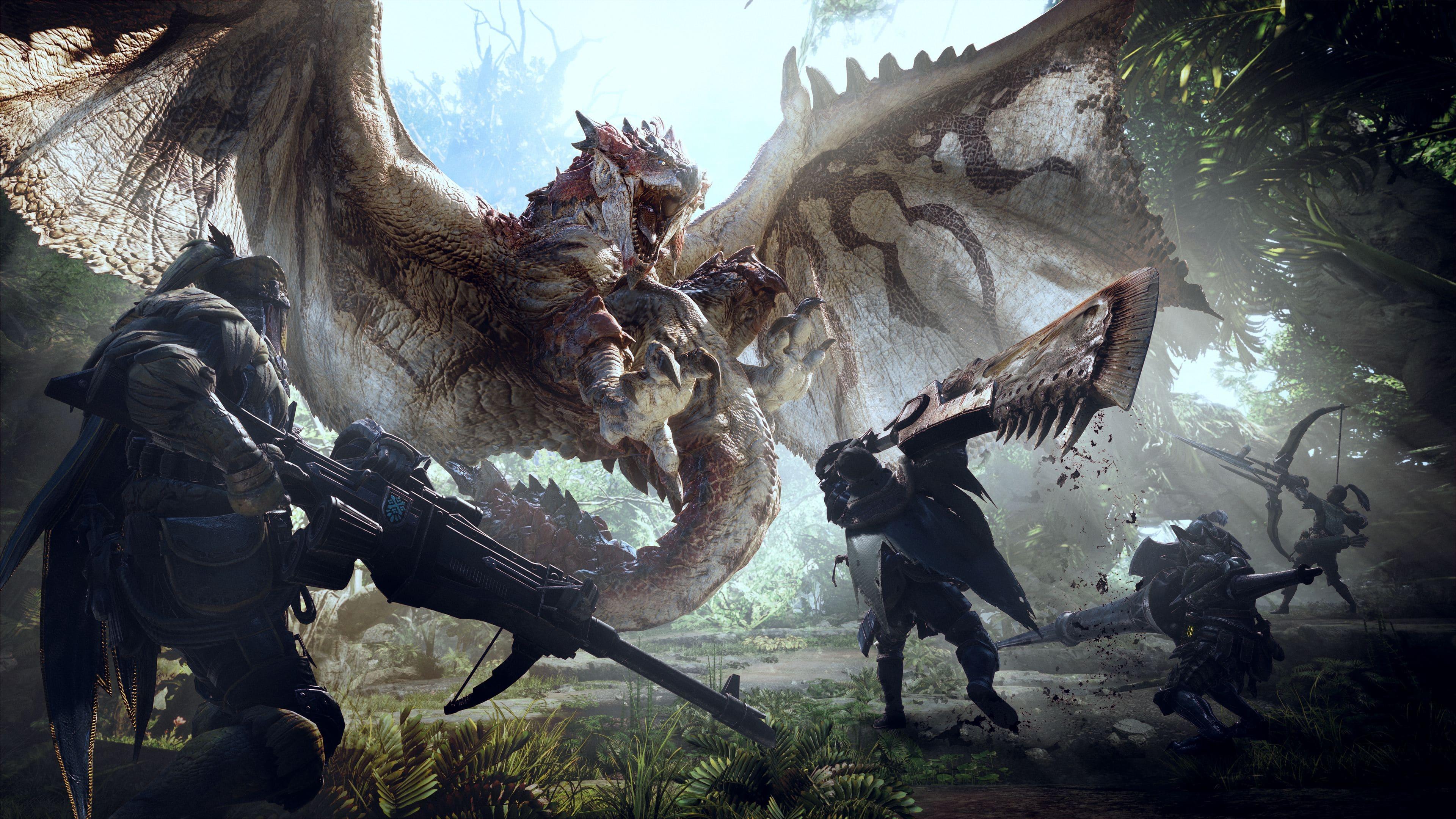 Monster Hunter World recibirá contenido gratuito