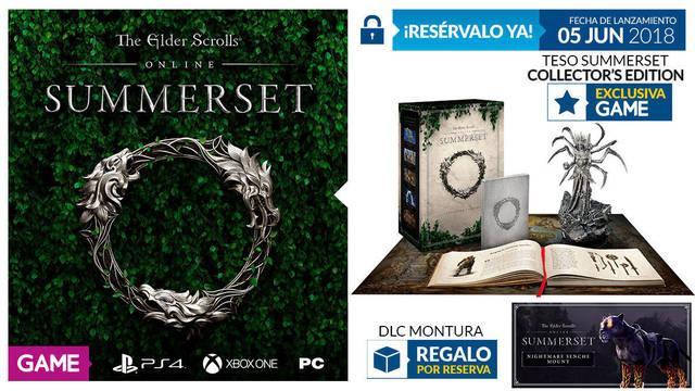 Edición limitada The Elder Scrolls Online: Summerset
