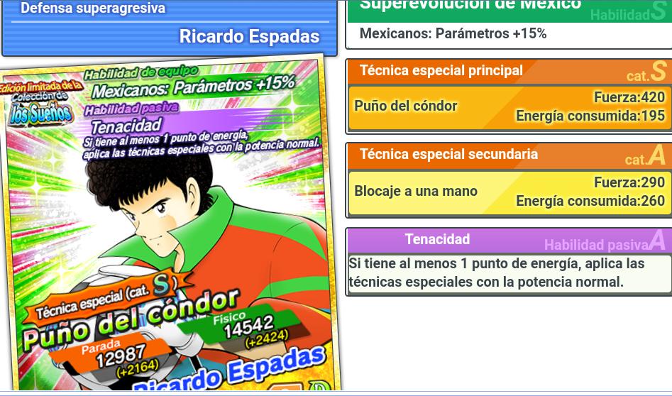 Regalos y eventos en Captain Tsubasa Dream Team