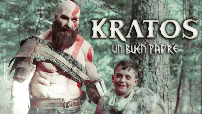 Joaquín Reyes se convierte en Kratos de God of War
