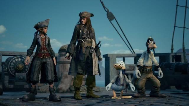 Kingdom Hearts III revela su mundo de Piratas del Caribe y una edición especial de PS4 Pro